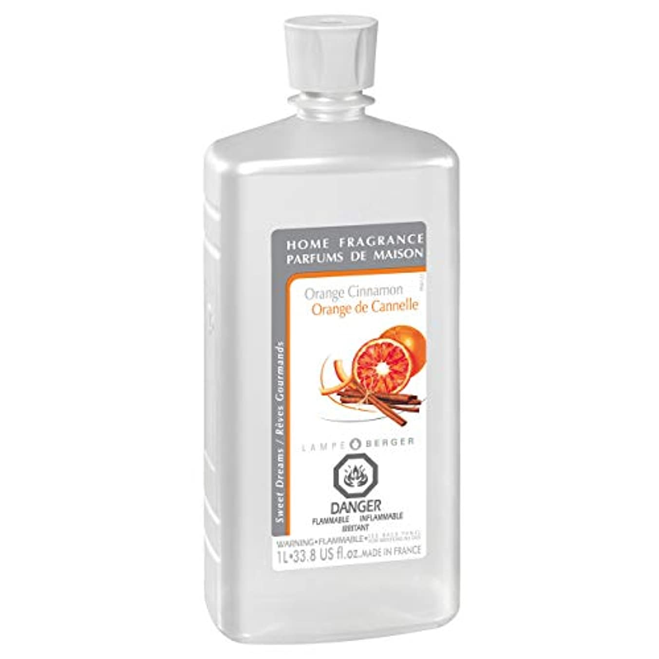 ほんのほのめかす無実Lampe Berger Fragrance, 33.8 Fluid Ounce, Orange Cinnamon by Lampe Berger