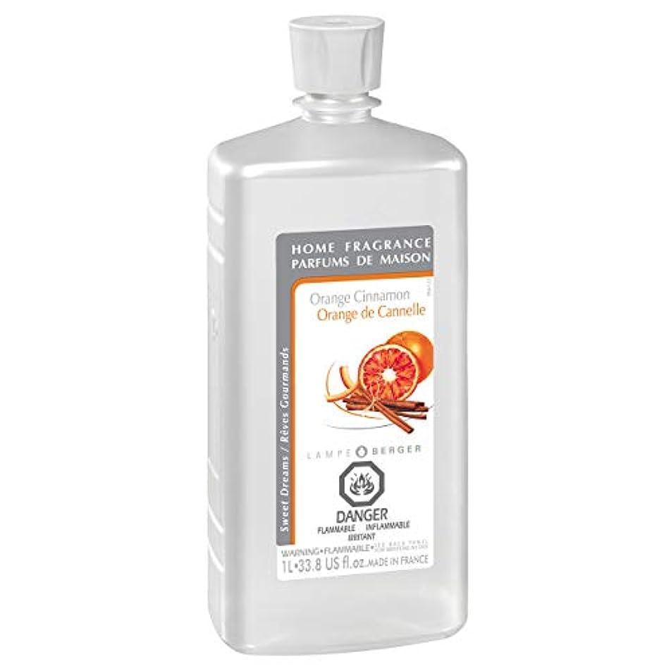 直感台風硬化するLampe Berger Fragrance, 33.8 Fluid Ounce, Orange Cinnamon by Lampe Berger
