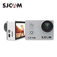 SJCAM SJ7 STAR 4Kアルミニウムボディスポーツカメラ タッチスクリーン ジャイロスコープ アクションカメラ ぎんしょく