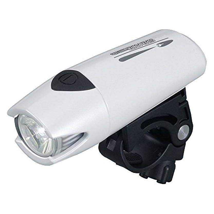 奇跡今日グリット(SMART/スマート)(自転車用フロントライト)BL-183 I 400 カンデラ LEDライト ホワイト