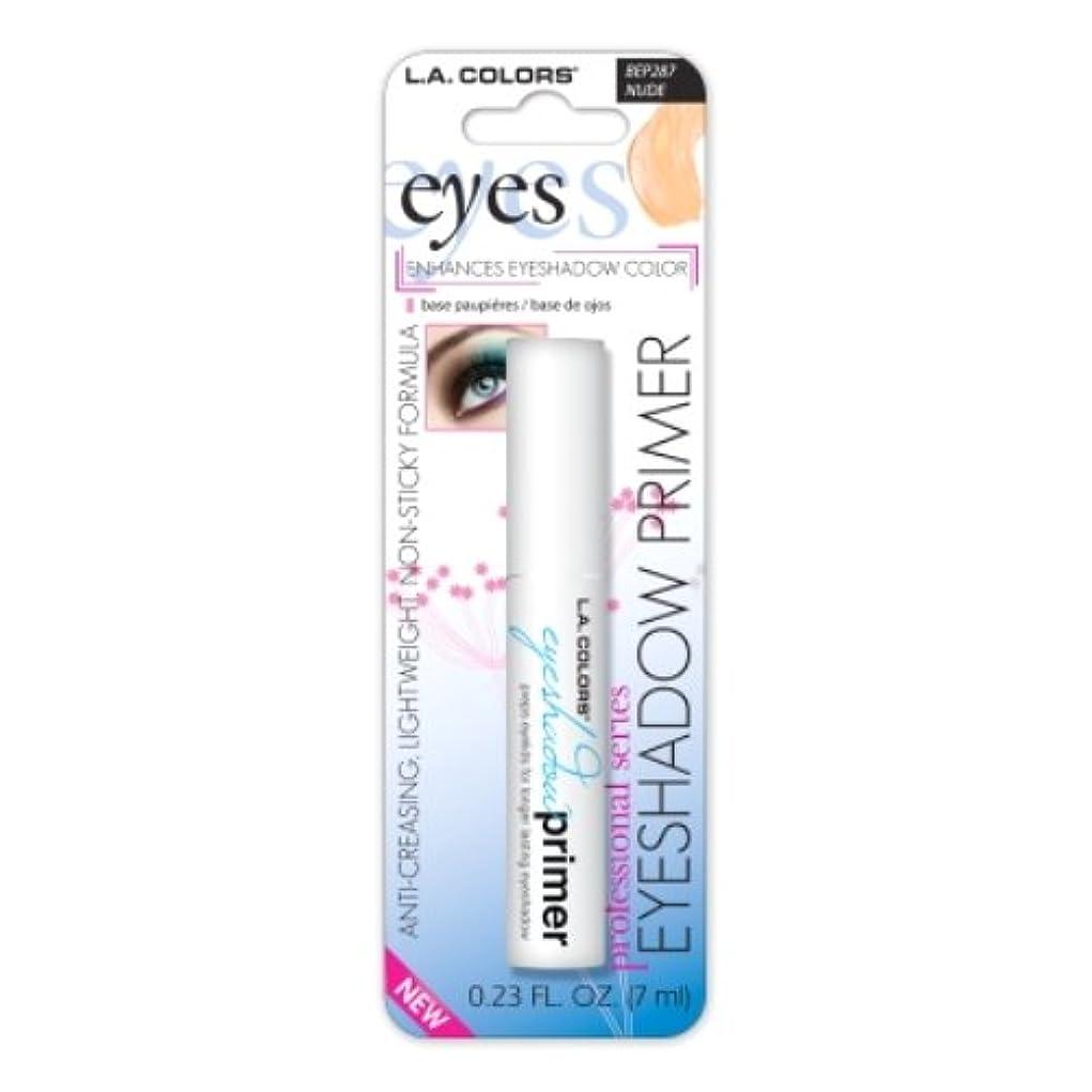 予防接種する地上で権限LA GIRL Eyeshadow Primer - Nude (並行輸入品)