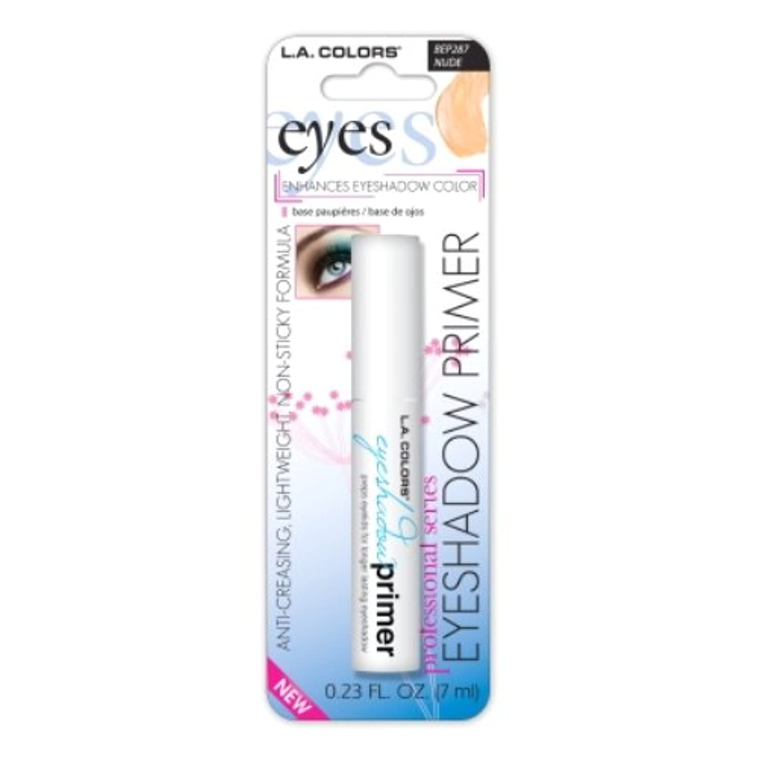 処理潜水艦外国人LA GIRL Eyeshadow Primer - Nude (並行輸入品)