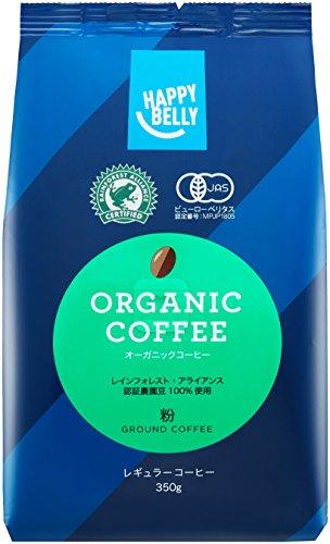 【Amazonオリジナル】 Happy Belly オーガニックコーヒー 粉...