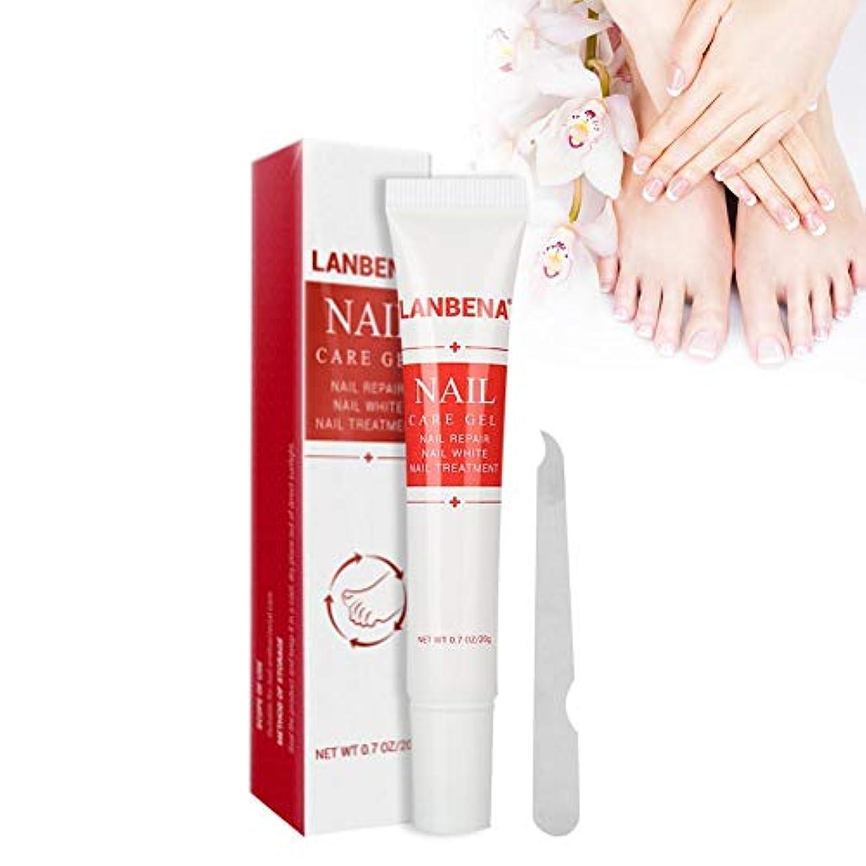 掃除入射些細な20g 爪修復ゲル、ハーブ爪の修復クリーム 修復 新陳代謝を促進し 爪の光沢を回復させる修護クリーム