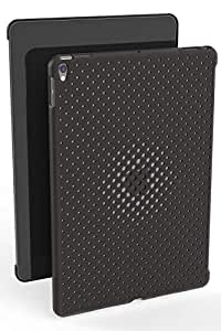 AndMesh iPad Pro 10.5 ケース Mesh Case メッシュ デザイン 純正スマートカバー対応 純正スマートキーボード対応 背面ケース/チャコールグレイ 612-957564