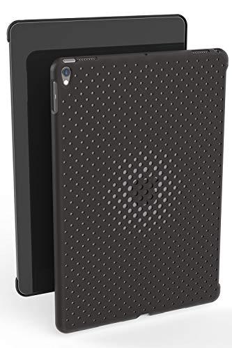 AndMesh iPad Pro 10.5 ケース Mesh Case メッシュ デザイン 純正スマートカバー対応 純正スマートキーボード対応 背面ケース/チャコールグレイ AMMSD201-CGR