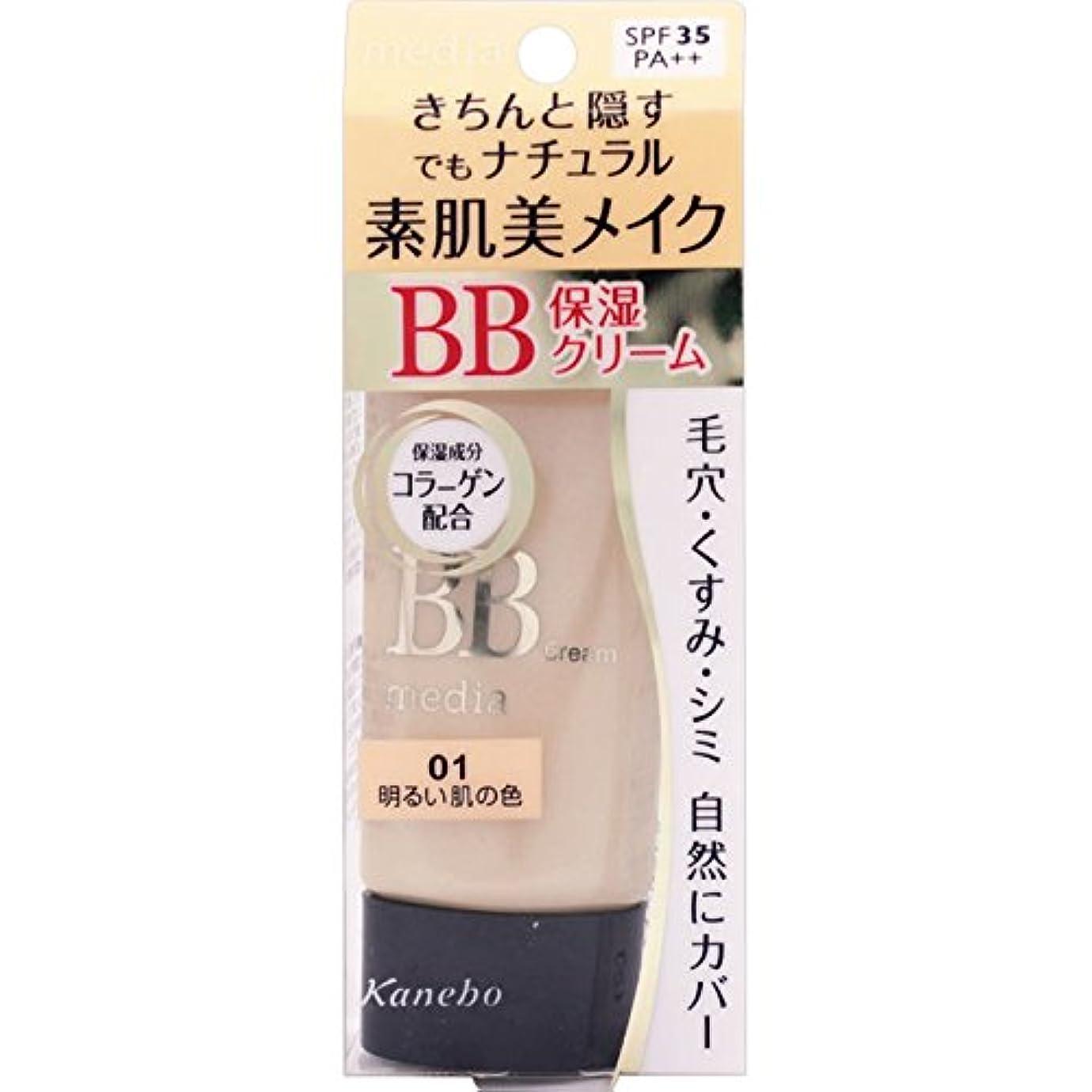 公演メモ最悪カネボウ メディア BBクリームN 01 SPF35?PA++