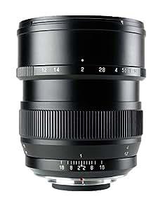 中一光学(ZHONG YI OPITCS) 単焦点レンズ SPEEDMASTER 85mm F1.2 (ニコンFマウント)