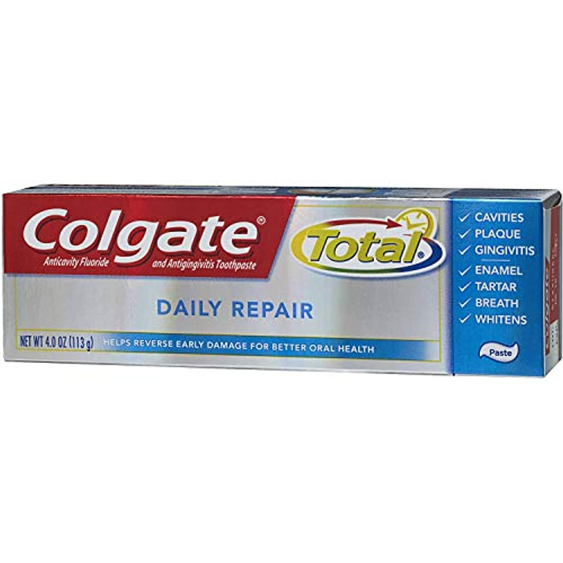 リーク可決同等のColgate 全日修理歯磨き粉4オズ(2パック)