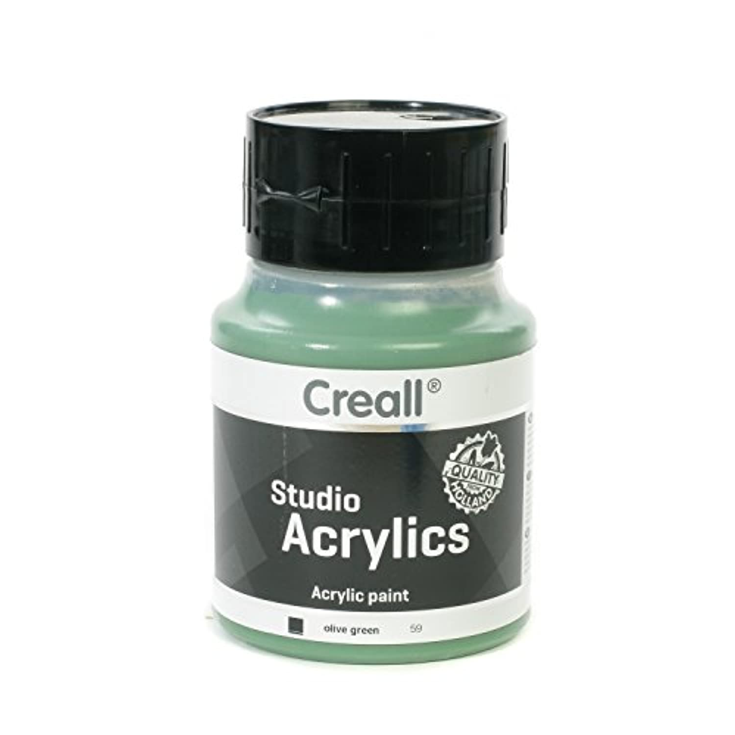 American Educational Products A-05059 Creall-Studio-Acrylics 500Ml 59 Olive Green