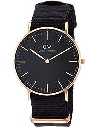 [ダニエル・ウェリントン]DanielWellington 腕時計 Classic Black Cornwall ブラック文字盤 DW00100150 【並行輸入品】