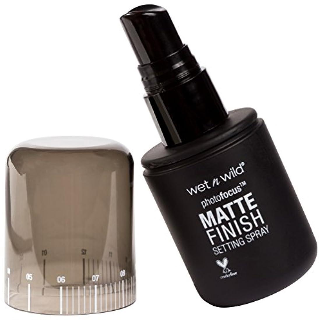 生物学気まぐれなやめるWET N WILD Photo Focus Matte Finish Setting Spray - Matte Appeal (並行輸入品)
