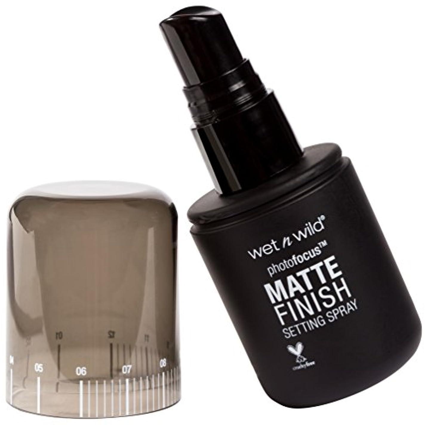 マーキー続編反対したWET N WILD Photo Focus Matte Finish Setting Spray - Matte Appeal (並行輸入品)