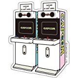 CAPCOM×B-SIDE LABELステッカー アーケード ミニキュート