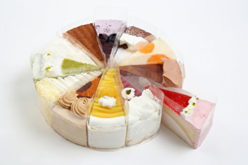 ※4月28日発送分※ 【お誕生日 バースデーケーキ】 12種バラエティケーキ 7号 直径21.0cm (約6~12名) ※キャンドル6本付※