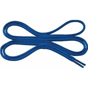 [ミズノ] MIZUNO 靴ひもオーバル [楕円型] ブルー