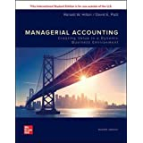 ISE Managerial Accounting: Creating Value in a Dynamic Business Environment