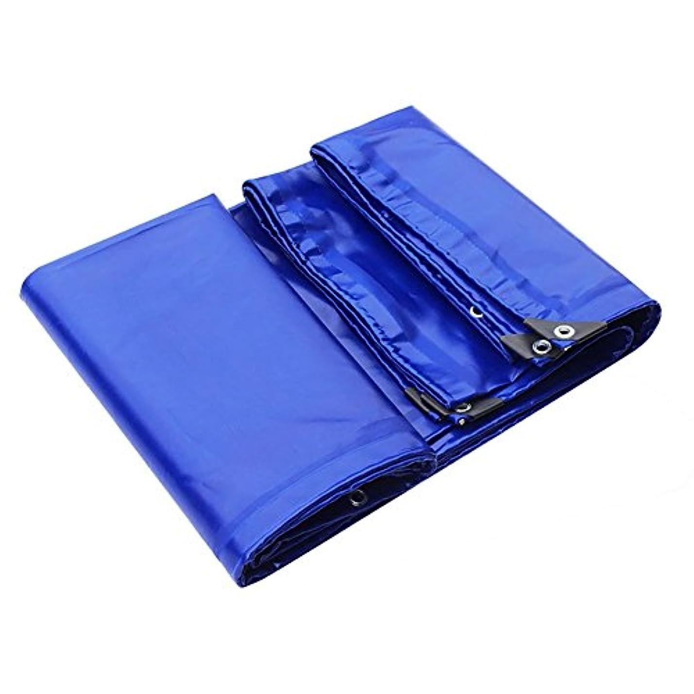サージ前提裁量WCH 3反布防水シートpvc布防雨車の防水シート接着剤オイルクロスキャンバスブルー屋外テント、最大5×7メートル