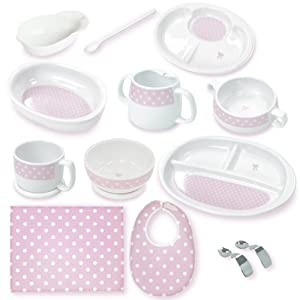 キャンディリボン Candy ribbon はじめての食器13点セット 511924 日本製