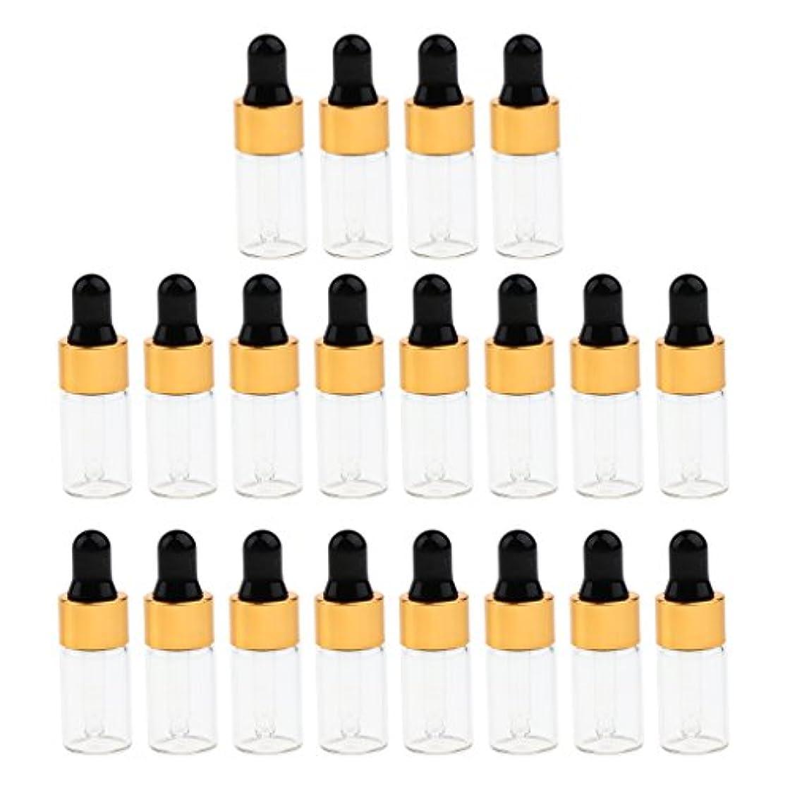 テセウス交響曲ユーモラスCUTICATE エッセンシャルオイル コスメ 詰替え容器 サンプルボトル ドロッパーピペットボトル 3サイズ選べ - 3 ミリリットル