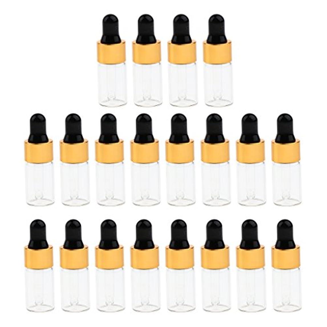 糸バージン傘CUTICATE エッセンシャルオイル コスメ 詰替え容器 サンプルボトル ドロッパーピペットボトル 3サイズ選べ - 3 ミリリットル