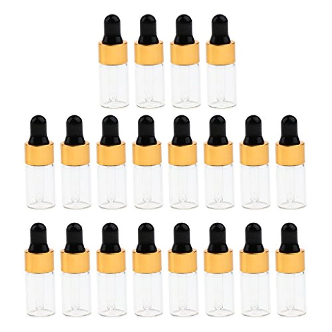 マントパンマスクCUTICATE エッセンシャルオイル コスメ 詰替え容器 サンプルボトル ドロッパーピペットボトル 3サイズ選べ - 3 ミリリットル