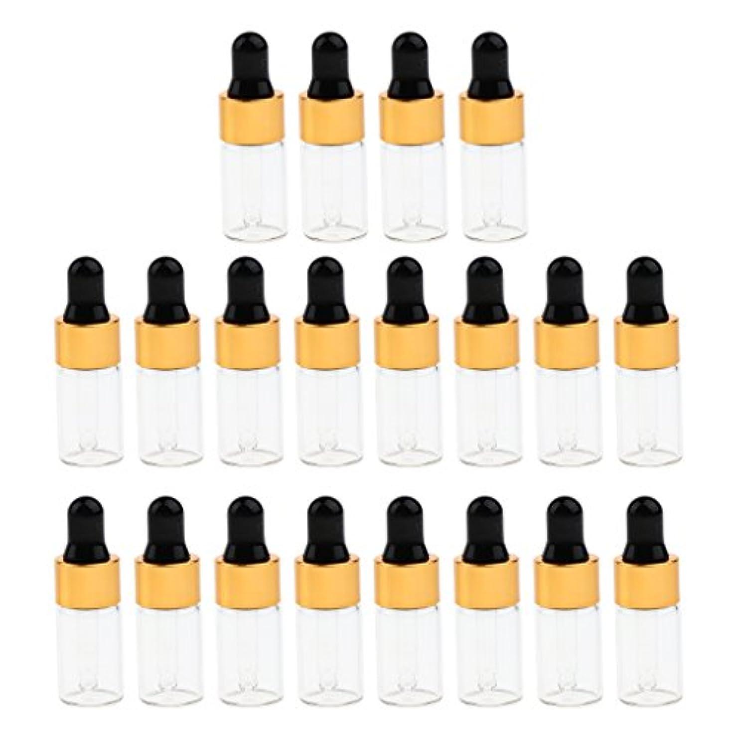 指紋恋人鷹CUTICATE エッセンシャルオイル コスメ 詰替え容器 サンプルボトル ドロッパーピペットボトル 3サイズ選べ - 3 ミリリットル
