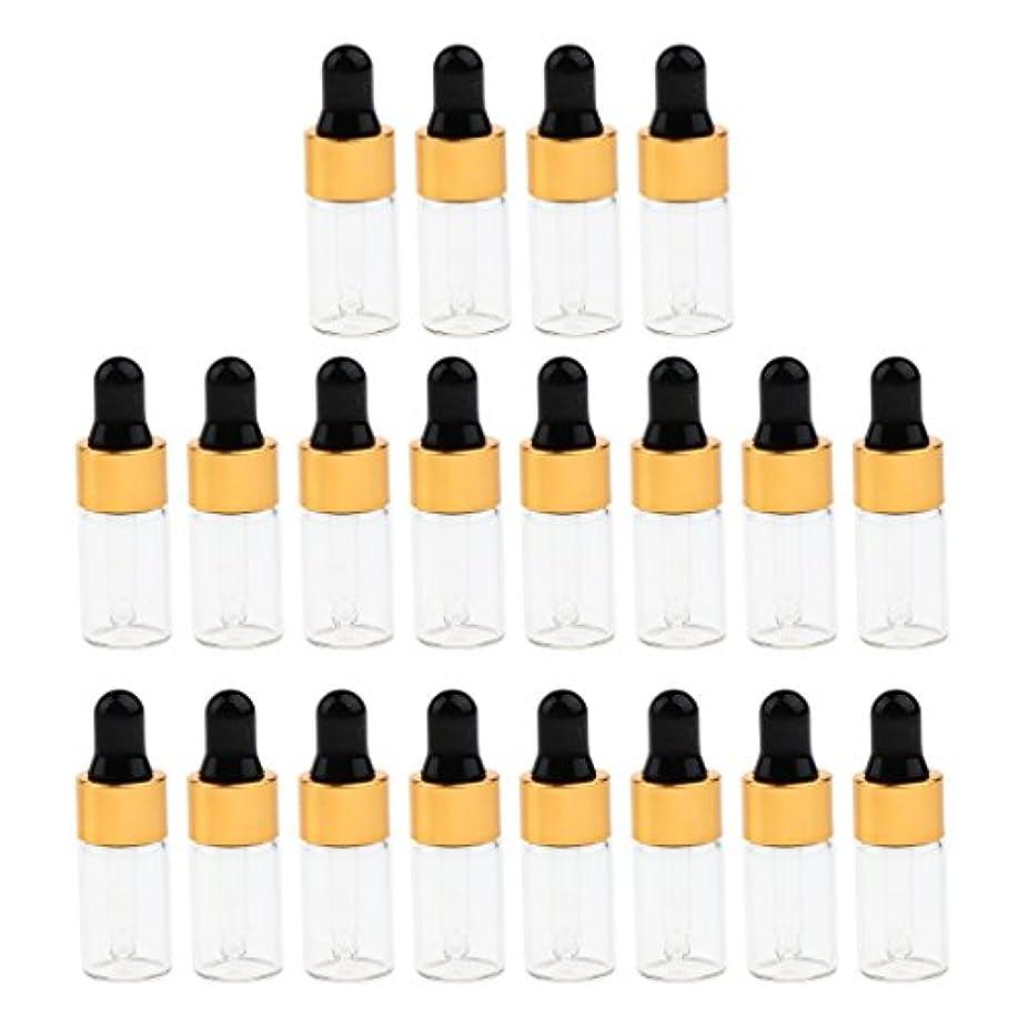 逃げる国歌内部エッセンシャルオイル コスメ 詰替え容器 サンプルボトル ドロッパーピペットボトル 3サイズ選べ - 3 ミリリットル