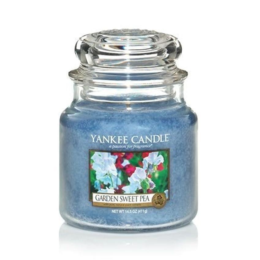 Yankee Candle 14.5 Oz Jar Candle Garden Sweet Pea by Yankee Candle [並行輸入品]
