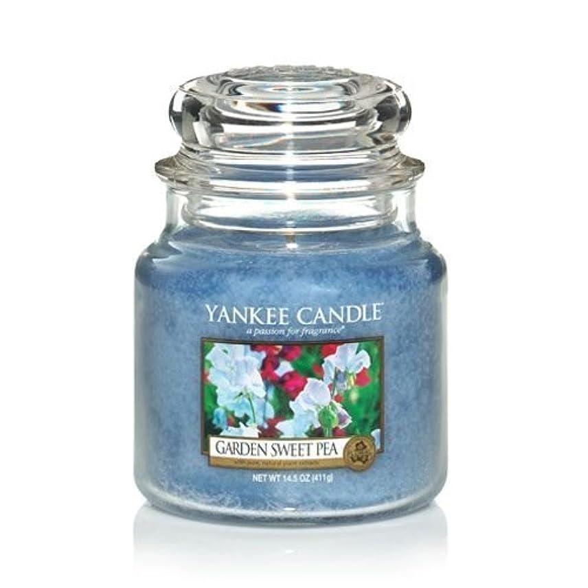 変更湾泥Yankee Candle 14.5 Oz Jar Candle Garden Sweet Pea by Yankee Candle [並行輸入品]