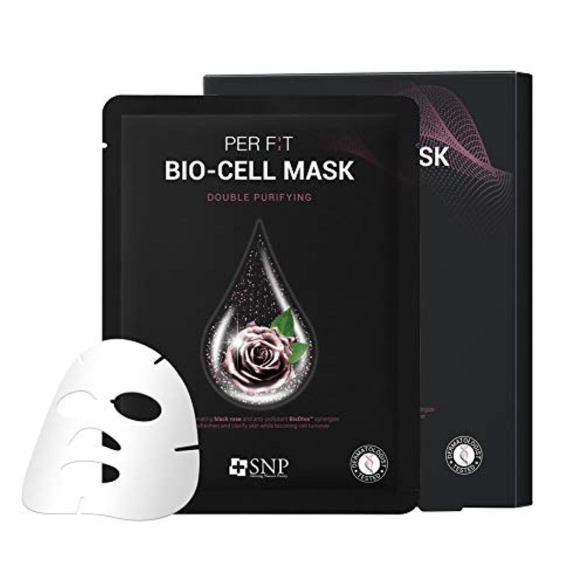 リーダーシップスロー崇拝します【SNP公式】パーフィット バイオセルマスク ダブルピュリファイング 5枚セット / PER F:T BIO-CELL MASK DOUBLE PURIFYING 韓国パック 韓国コスメ パック マスクパック シートマスク