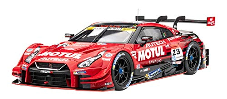 エブロ 1/18 モチュールオーテック GT-R スーパーGT GT500 2017 No.23 完成品