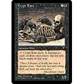 Magic: the Gathering - Crypt Rats - Visions by Wizards of the Coast [並行輸入品]