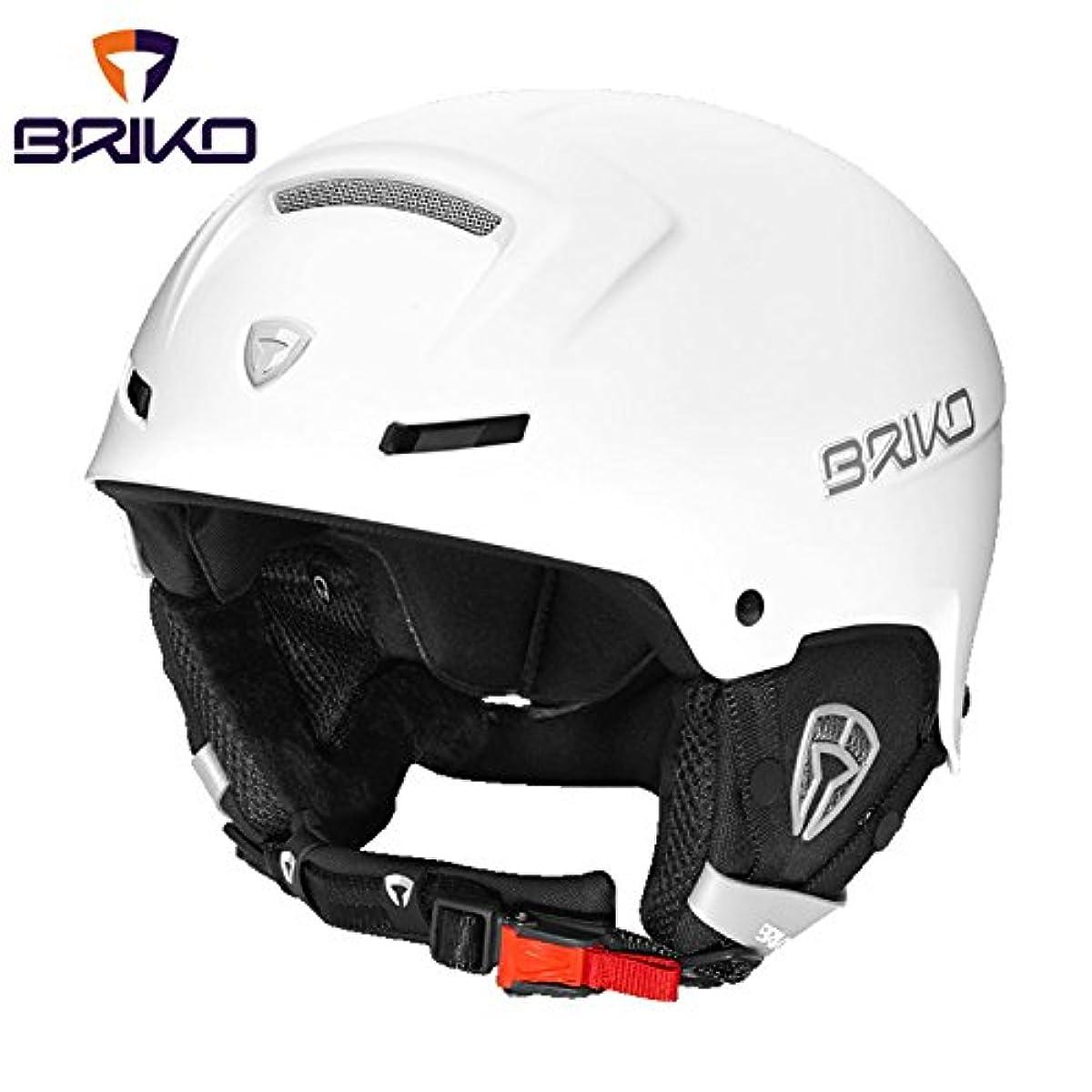 [해외] BRIKO(브리고)FAITO 프리 라이드 스키 헬멧 맨즈 레이디스 923(매트 화이트앗 20001M0- (SIZE:M-L|COLOR:923)