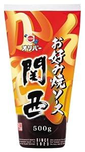 オリバーソース お好み焼ソース関西 500g×3本