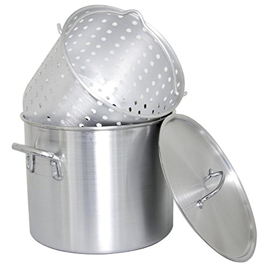 刈り取る心のこもったお世話になったCajun調理器具40-quartアルミBoiling Stock Pot – gl10172
