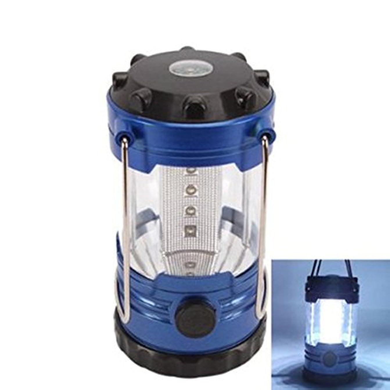 観察不振リーチAFBEST 12LEDポータブルなキャンプランタンライト ランプ コンパス付き