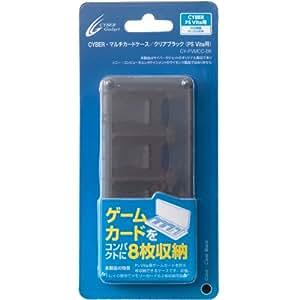 CYBER・マルチカードケース (PS Vita用) クリアブラック