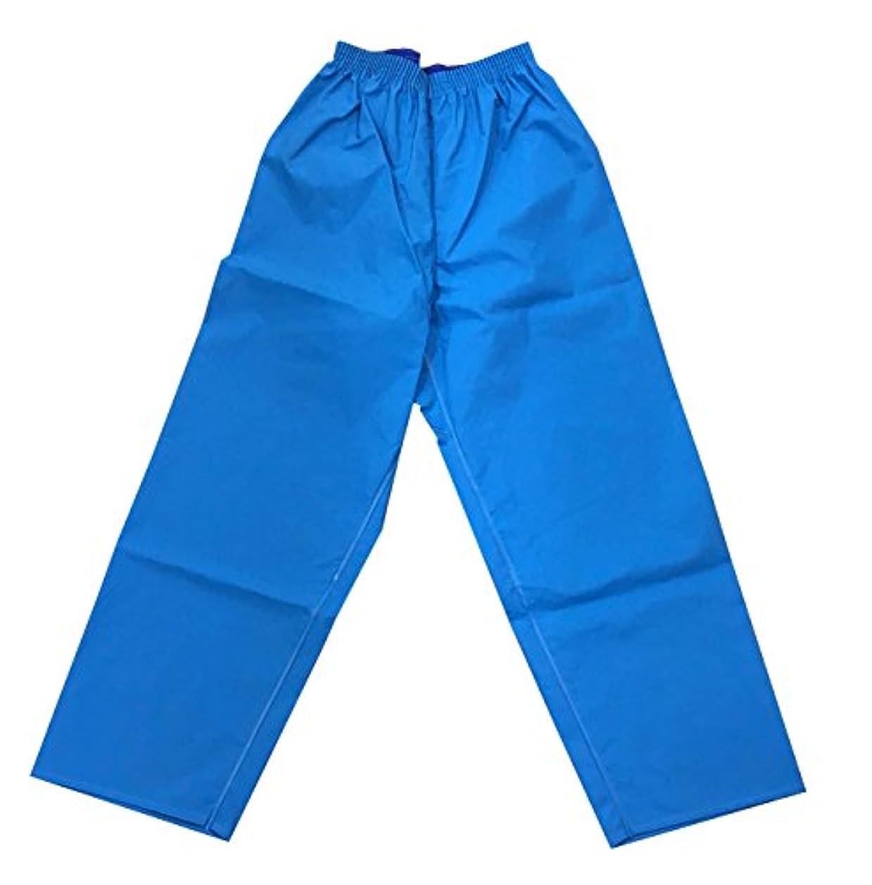 温度原因追い出すKURAHUTERU(クラフテル) イカリ印 フィッシャーマン レインウエアー ズボン 5L ブルー 11EA171