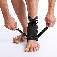 TINYPONY 足首サポーター 足首固定 関節保護 締め付け ねんざ 転倒防止 つまずき防止 適度な伸縮性 スポーツ ウォーキング マラソン 高齢者 歩行補助