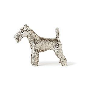 ワイヤーフォックステリア イギリス製 アート ドッグ フィギュア コレクション
