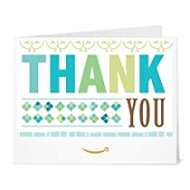 Amazonギフト券- 印刷タイプ(PDF) - ありがとう(サンキューグリーン)