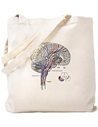 CafePress – Pathways Of The Brain – ナチュラルキャンバストートバッグ、布ショッピングバッグ S ベージュ 1001596077DECC2