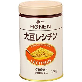 豊年 大豆レシチン(顆粒250g缶)