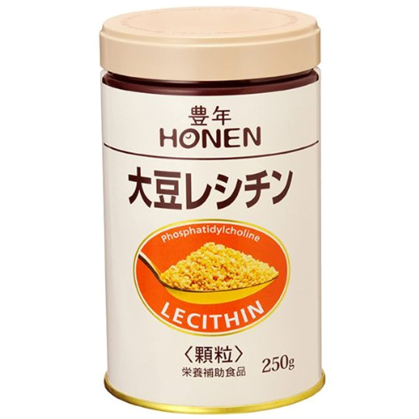 から聞くサイレン翻訳者豊年 大豆レシチン(顆粒250g缶)