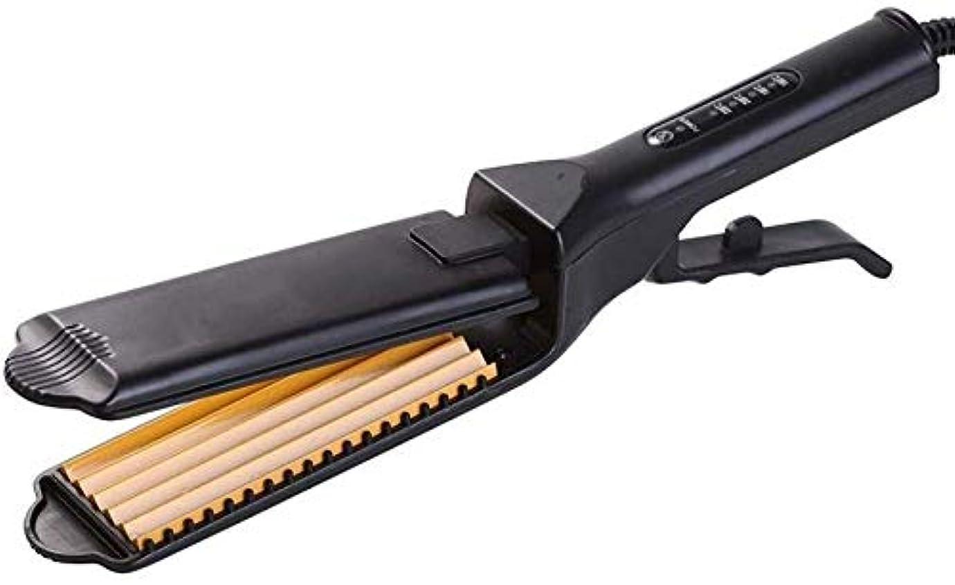 重々しいペリスコープ最後にストレートヘアアイロン/カーラー デュアル使用することはない傷、髪、トウモロコシ、ふわふわ、ストレートヘア、パーマ、矯正、クリップ、トウモロコシ、ウィスカー、ストレートクリップを行います (Color : Corn clip)