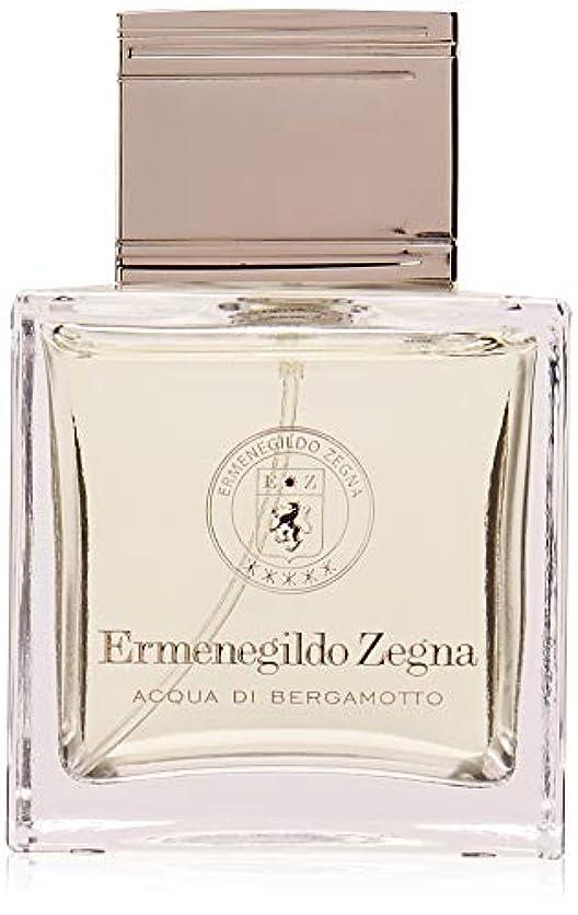 馬鹿びん高度Ermenegildo Zegna Acqua di Bergamotto Eau De Toilette 100ml 3.4oz