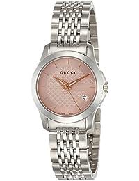 [グッチ]GUCCI 腕時計 ピンク文字盤 YA126566 レディース 【並行輸入品】
