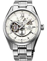 [オリエント]ORIENT 腕時計 ORIENTSTAR オリエントスター セミスケルトン 機械式 自動巻(手巻付) アイボリー WZ0281DK メンズ