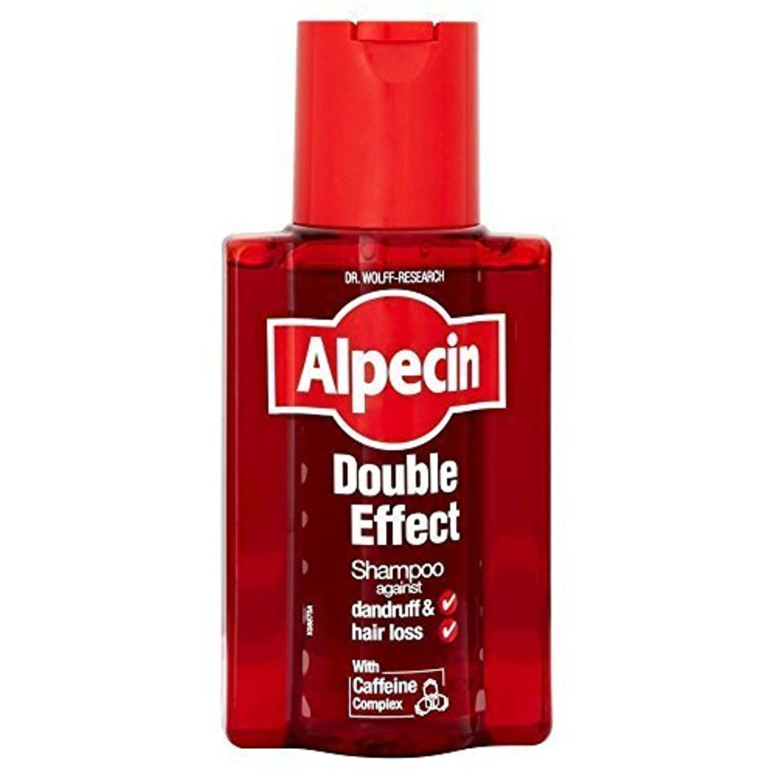 呼吸この申し立てAlpecin Double Effect Shampoo (200ml) by Grocery [並行輸入品]